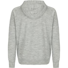 super.natural Essential Veste à capuche zippée Homme, ash melange